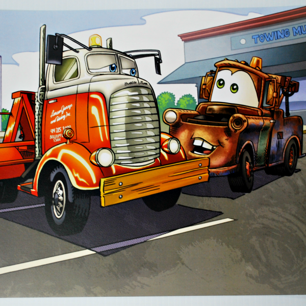 """14""""x11"""" Mater with Bubble Nose"""