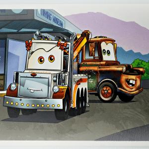 """18""""x12"""" Mater & Tater Tot Poster"""