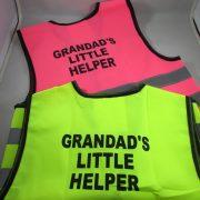 Grandad's Little Helper- Children's Safety Vest