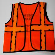 Kids Work Zone Vest - One Size (1)