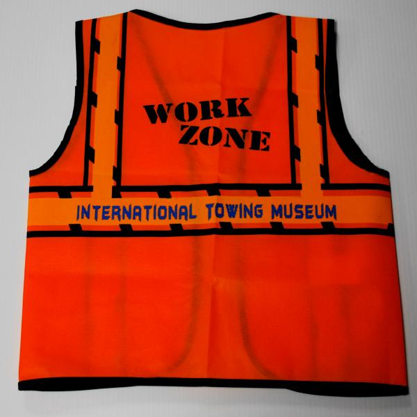 Kids Work Zone Vest - One Size (2)