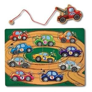 Melissa & Doug - Tow Truck Magnetic Puzzle