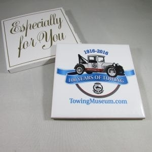 Summer Colbert - 100th Year Anniversary Ceramic Coaster