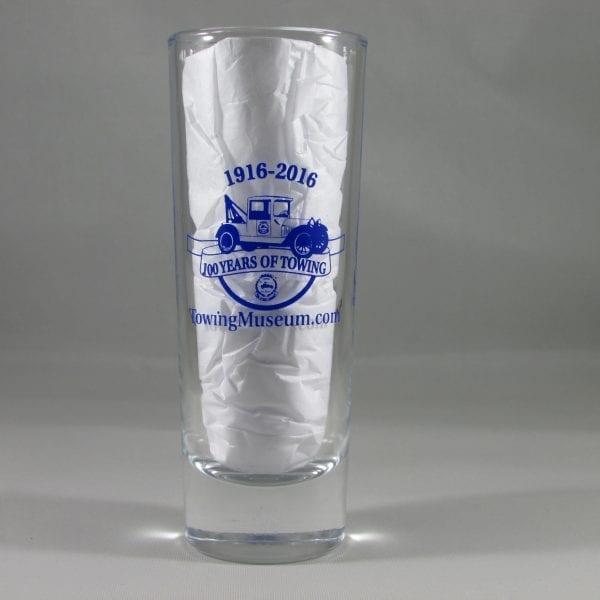 Summer Colbert - 100th Year Anniversary Shot Glass- Tall
