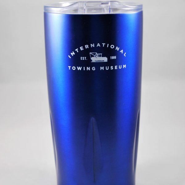 Summer Colbert - Blue Thermal Travel Mug