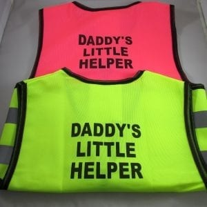 Summer Colbert - Daddy's Little Helper- Children's Safety Vest