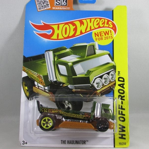 Summer Colbert - Hot Wheels Haulinator Green
