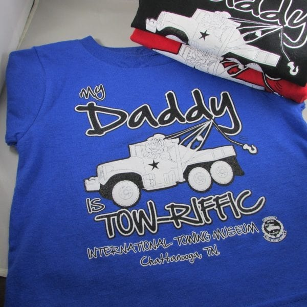 Summer Colbert - ITRHFM My Daddy is Tow-riffic Children's Shirt (1)