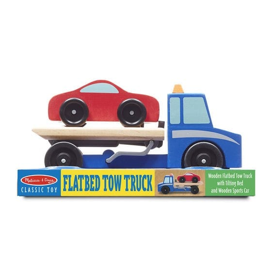 Summer Colbert - Wooden Flatbed Tow Truck (1)